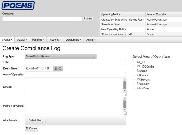 CRM Rule compliance