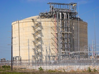 liquified natural gas plant enersys houston texas